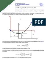 Mecapedia-Cálculo de la catenaria conocidos los puntos de amarre y la longitud