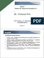 EE218 - 06 - IPv4