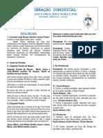 FOLHETO DA SAGRADA FAMÍLIA - 2020