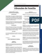 LEY DE TRIBUNALES DE FAMILIA