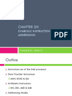 Assembly Language - CHAPTER 6