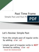 Simple Past and Past Progressive
