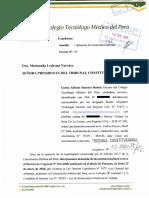 Demanda Expediente 3-2020 PI-TC