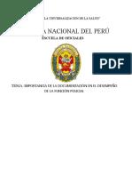 IMPORTANCIA DE LA DOCUMENTACIÓN EN EL DESEMPEÑO DE LA FUNCIÓN POLICIAL