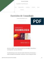 Novello - Exercícios de Cosmologia