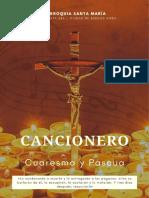 Cancionero Cuaresma y Pascua PARROQUIA SANTA MARÍA