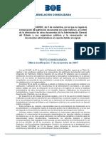 Decreto 11642002, conservación del patrimonio documental con valor histórico la eliminación de otros documentos