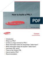 IFAST24 011 How to build a PRL