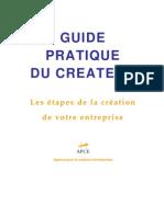guide pratique du createur d'entreprise