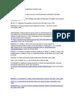 Referências - Acumulação capitalista e questão social