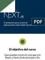 Next - El Framework de React