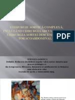 Chirurgie aortica complexa