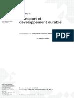Doc Ref_Transport Et Développement Durable