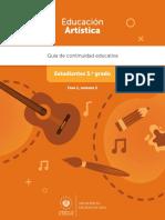 5º Grado - Educación Artistica - F1_S2