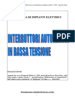 dispensa impianti interruttori automatici