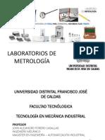 Presentación Laboratorios de Metrología