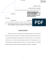 Thao Notice of Motion and Motion