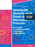 Innovación Docente en El Grado de Educación Primaria 2018