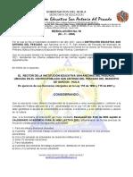 RESOL. CALENDARIO - IESAP - 2021