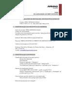 FICHA DE INFORMAÇÕES DE SEGURANÇA DE PRODUTOS QUÍMICOS