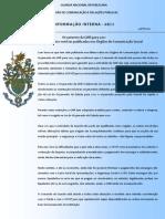 DCRP-Boletim de Informação Interna 08-11