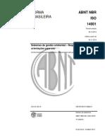 ABNT NBR ISO 14001 2015  (ver. CIS)