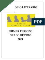 Portafolio Lector primer período