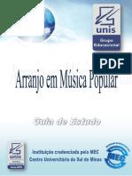 ARRANJO EM MUSICA POPULAR