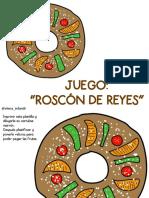 Juego Roscón de Reyes