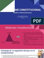 sindrome constitucional
