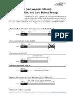 Alex Fischer - Paretoprinzip