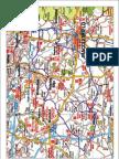 Jodrell Bank Cyclosportive Route Card 50 Miles 2011