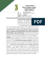 Alegato de Falsificacion de Documentos