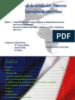 influenciadelarevolucinfrancesaenlaindependencia1-120911064853-phpapp02