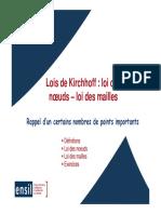 Lois-Kirchhoff
