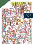 Jodrell Bank Cyclosportive Route Card 80 Miles 2011