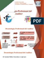 Deontología Profesional del Auditor.