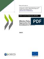 OCDE - Publicação - Investimento no turismo