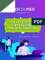 GUÍA DE ESTUDIO PROEDUMED ENARM 2021 VF