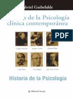Guibelalde Gabriel - Escuelas de La Psicología Clínica Contemporánea