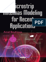 Microstrip Antennas Modeling for Recent Applications by Coll.