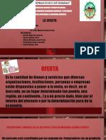 CAMBIO DE LA DEMANDA Y CANTIDAD DEMANDADA