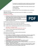 Orientações Crítica Textual - Aulas 1 a 8
