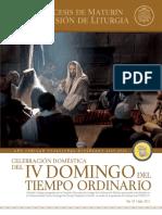 Subsidio - IV Domingo del Tiempo Ordinario - Ciclo B