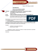019 Carta REMISION DE INFORME DE ADICIONAL DE SUPERVISION