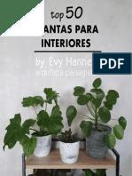 Top 50 Plantas Para Interiores by EVY HANNES Arqt Paisagista