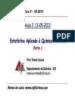 Aula-2-Estatistica_1S-2013