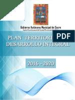 PTDI SUCRE 2016-2020