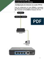 D-Link DIR100 Configuração PPPOE