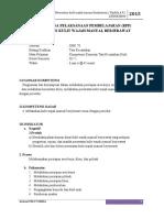 Caridokumen.com Rencana Pelaksanaan Pembelajaran Rpp Perawatan Kulit Wajah Manual Berjerawat